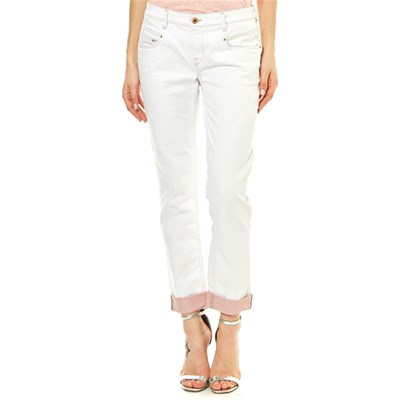 Diesel BELTHY JEANS DRITTO BIANCO