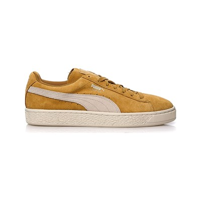 Puma BASKETS EN CUIR OCRE Chaussure France_v6025
