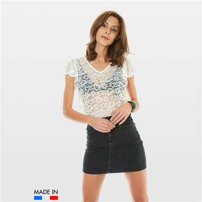 BrandAlley La Collection DORA TOP BIANCO