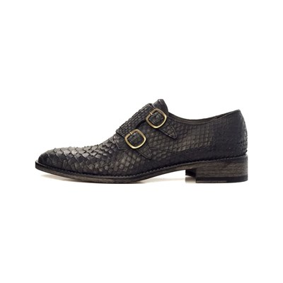 Féron Paris DERBIES EN CUIR NOIR Chaussure France_v18302