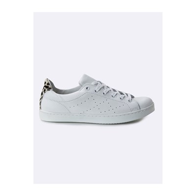 Cyrillus BASKETS EN CUIR BLANC Chaussure France_v9033