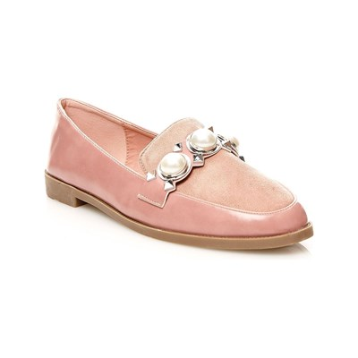 Chaussures Femme | R and Be MOCASSINS ROSE