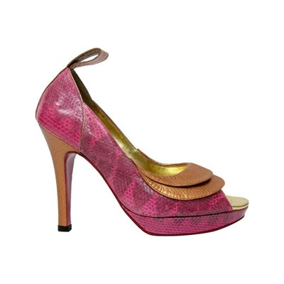 Pring Paris CANDY ESCARPINS EN CUIR ROSE