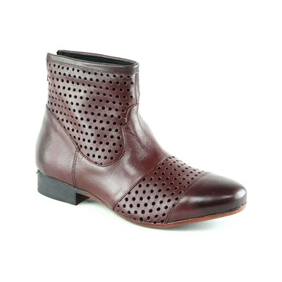 Cuir Bottines Karakool Élastomère Bordeaux 2285091 Flora En wp55qvUt