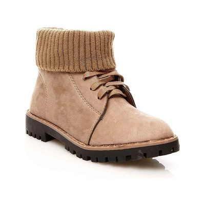 R and Be BOOTSSTIEFLETTEN KHAKI