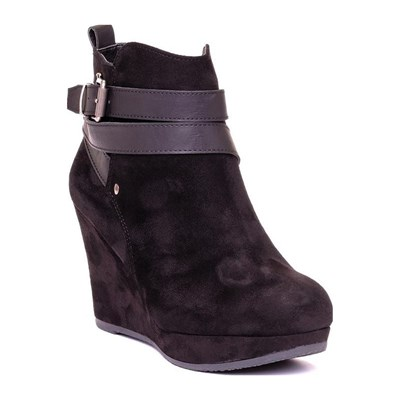 Xti 63046 BOOTS, BOTTINES NOIR