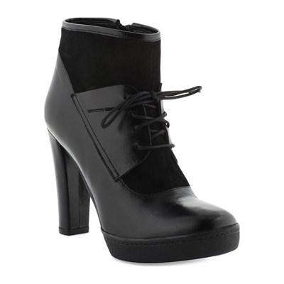 COSMOPARIS EDEA LOW BOOTS EN CUIR NOIR Chaussure France_v9170