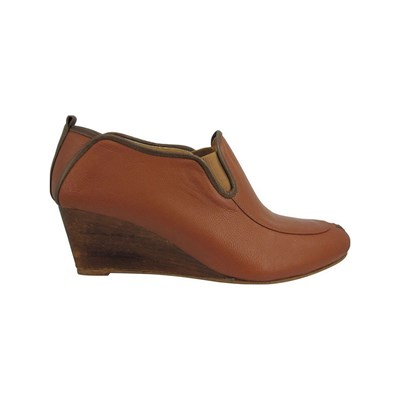 Pring Paris FILIPA BOTTINES EN CUIR MARRON Chaussure France_v17793