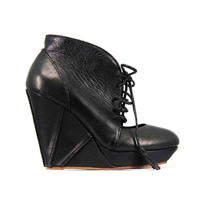 Pring Paris FIONELLA BOTTINES EN CUIR NOIR Chaussure France_v18070
