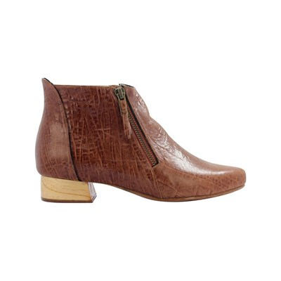 Pring Paris LORI BOOTS EN CUIR MARRON Chaussure France_v17917