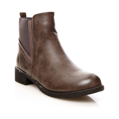 R and Be BOOTS, BOTTINES GRIS Chaussure France_v3195