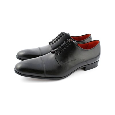 Exclusif Paris BRUNO DERBIES EN CUIR NOIR Chaussure France_v16980