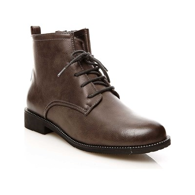 R and Be BOOTS, BOTTINES GRIS Chaussure France_v3193