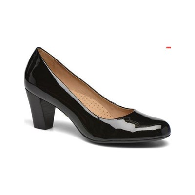 Hush Puppies ALEGRIA PUMPS AUS LEDER SCHWARZ