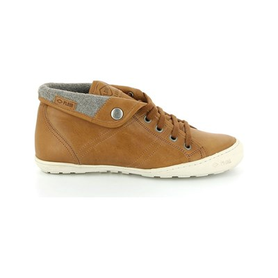 PLDM by Palladium GAETANE BASKETS EN CUIR CAMEL