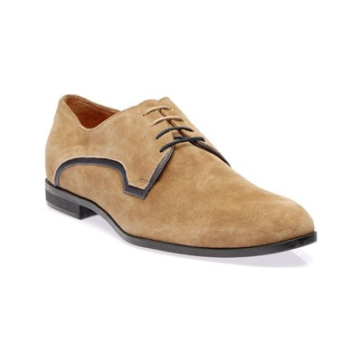 Dillinger DERBIES EN CUIR BEIGE Chaussure France_v8851