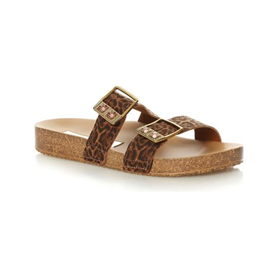Chaussures Femme | Grendha ESSENCE SLIDE MULES MARRON
