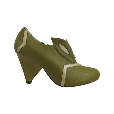 Pring Paris DINA BOOTS, BOTTINES VERT Chaussure France_v17836