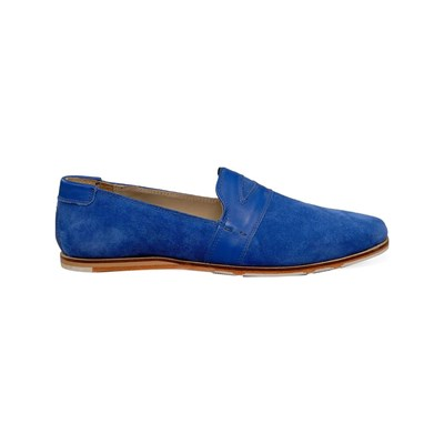 M by SWITCH MOCASSINS BLEU Chaussure France_v10662