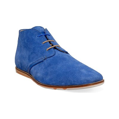 M by SWEAR BOOTS, BOTTINES BLEU Chaussure France_v11412