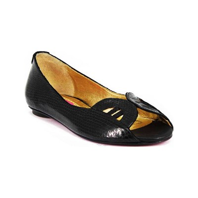 Pring Paris ASHLEY BALLERINES EN CUIR NOIR