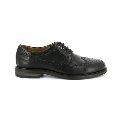 PLDM by Palladium NEARBY DERBIES EN CUIR NOIR Chaussure France_v12848