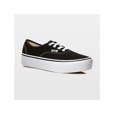 Vans UA AUTHENTIC PLATFORM 2.0 LOW SNEAKERS SCHWARZ