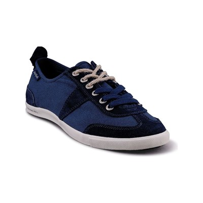 Peopleswalk PEOPLESWALK GRANT S POLYCANVAS BASKETS BLEUES MARINE Chaussure France_v2150