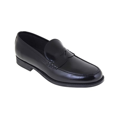 Malatesta MOCASSINS EN CUIR NOIR