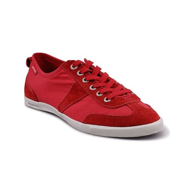 Peopleswalk GRANT S POLYCANVAS BASKETS ROUGES Chaussure France_v2145