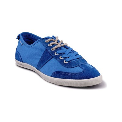 Peopleswalk GRANT S POLYCANVAS BASKETS BLEUES Chaussure France_v2143