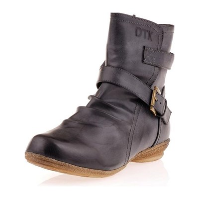 DTK BOOTS, BOTTINES MARRON Chaussure France_v3003