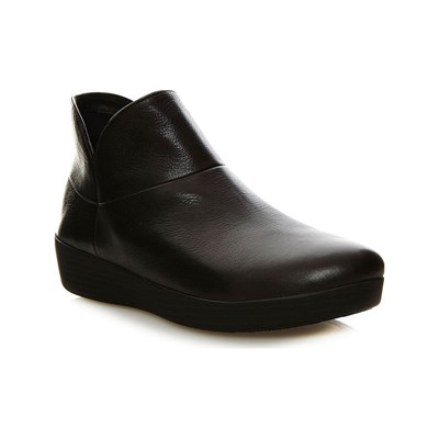 FitFlop BOOTS, BOTTINES NOIR