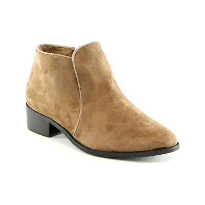 Like Style BOOTS, BOTTINES TAUPE Chaussure France_v2319