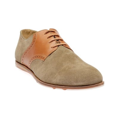 Dillinger SWING DERBIES EN CUIR BEIGE Chaussure France_v13187