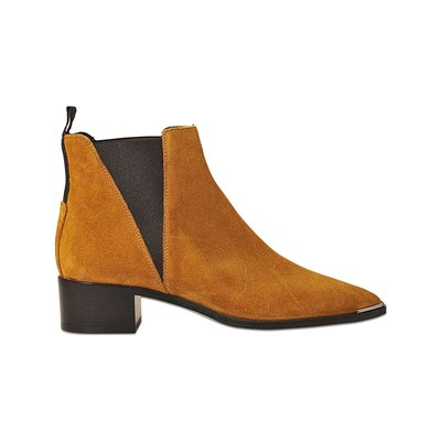 Acne Studios JENSEN BOTTINES EN CUIR MARRON Chaussure France_v18355