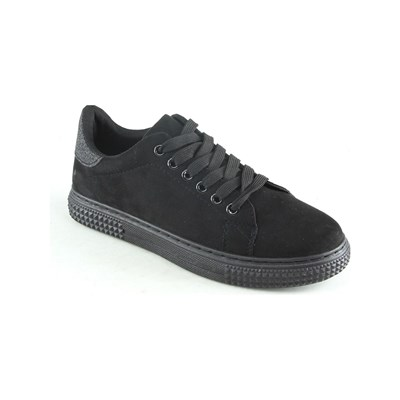 Sixth Sens LOW SNEAKERS SCHWARZ