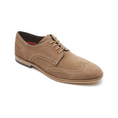 Rockport BL WING DERBIES EN CUIR CAFÉ