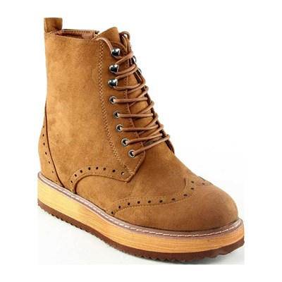 Poti Pati BOOTS, BOTTINES CAMEL Chaussure France_v4512