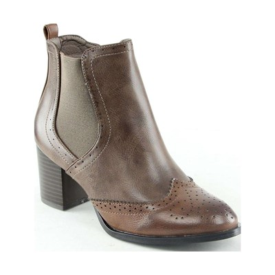 Poti Pati BOOTS, BOTTINES MARRON Chaussure France_v4634