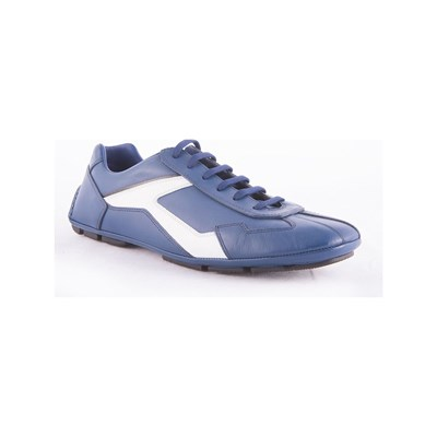 Prada BASKETS BASSES BLEU Chaussure France_v18233
