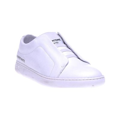 Pantone USA BASKETS EN CUIR BLANC Chaussure France_v7666