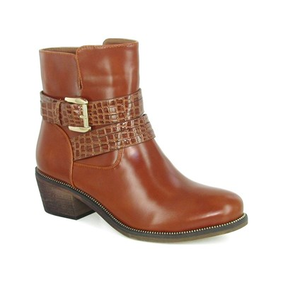 Eclipse ORION BOOTS, BOTTINES CARAMEL