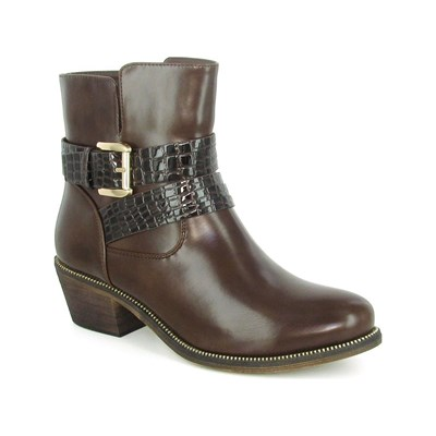 Eclipse ORION BOOTS, BOTTINES MARRON
