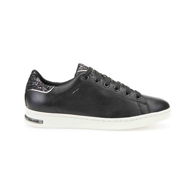 Geox JAYSEN LOW SNEAKERS SCHWARZ