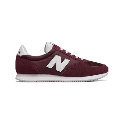 New Balance U220 SNEAKERS AUS LEDER BORDEAUXROT