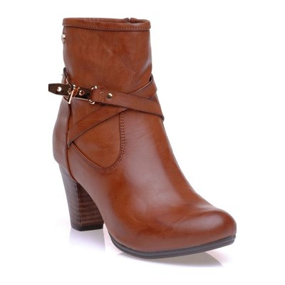 Xti BOOTS, BOTTINES MARRON