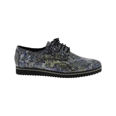 Elizabeth Stuart ARMY DERBIES EN CUIR MULTICOLORE