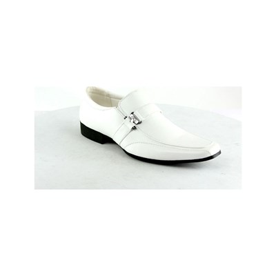 Elong MOCASSINS BLANC Chaussure France_v3514
