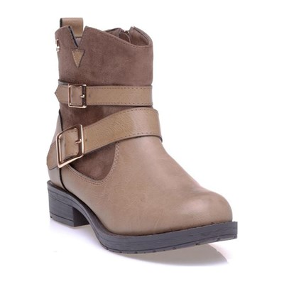 Xti BOOTS, BOTTINES BEIGE Chaussure France_v849